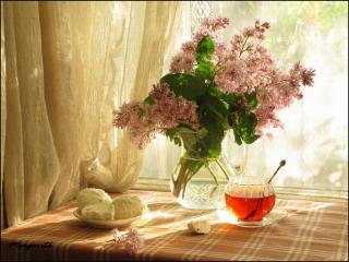 обои Натюрморт - Чай с зефиром фото