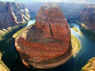 обои Подкова,   река Колорадо,   США фото