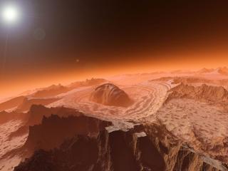 обои Маска планеты фото