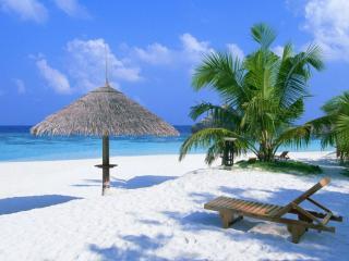 обои Белый пляж фото