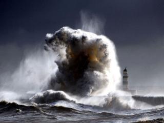 обои Морской ураган фото