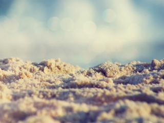 обои Пляж,   мокрый песок фото