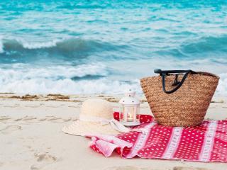 обои Пляж,   набор для посиделок на берегу фото