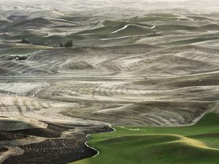 обои Зелёно-серые Холмы Палуз фото
