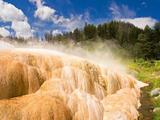 обои Песчаный водопад фото
