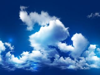 обои Ганяeт ветер облака по небу фото