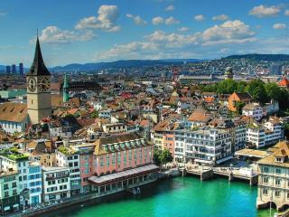 обои Цюрих. Швейцария фото