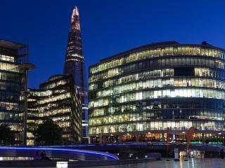 обои Вид ночного Лондона фото