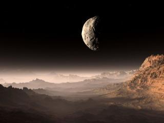 обои Ночь на Марсе фото
