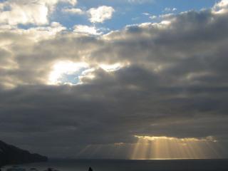 обои Утреннее небесное представление фото