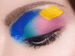 обои Макияж глаза - Разноцветный фото