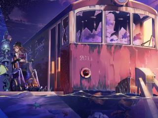 обои Miracle Train фото