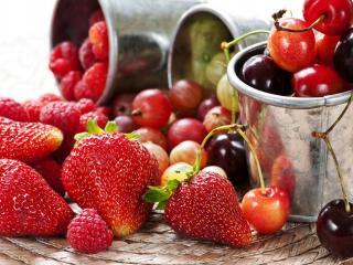 обои Сбоp фруктов фото
