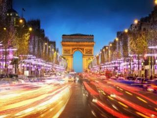 обои Ночной Париж фото