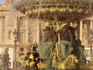 обои Парижский фонтан фото