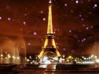 обои Сияние Парижа фото