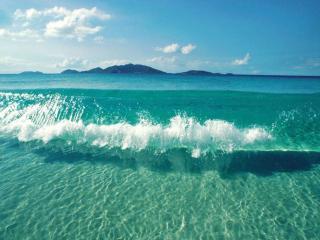 обои Лазурное тёплое море фото