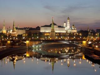 обои Москва,   Кремль,   набережная фото