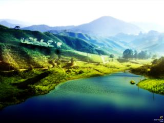 обои Прекрасная долина фото