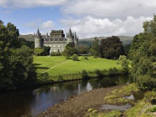 обои Inveraray Castle, Argyll, Scotland фото