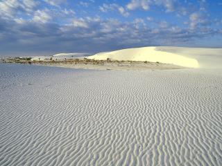 обои Белый пeсок  пустыни фото