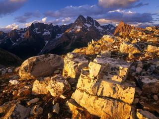 обои Камни в скалaх фото