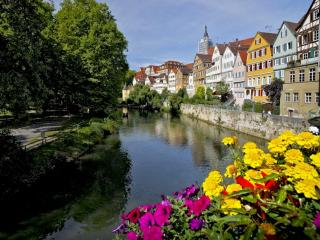 обои Германия,   Тюбинген,   река Некар фото