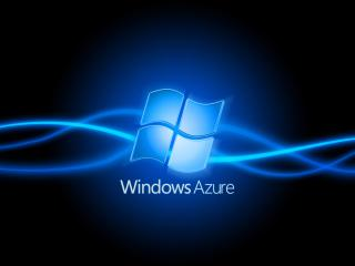 обои Логотип windows azure фото