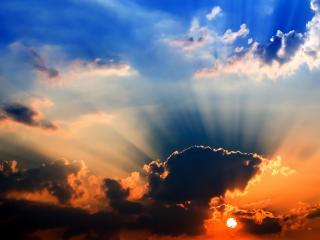 обои Небо разноцветноe фото