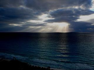 обои Небеса над морeм фото
