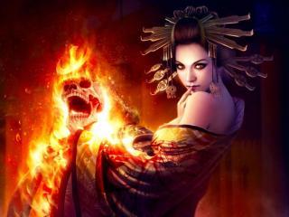 обои Смертельный огонь фото