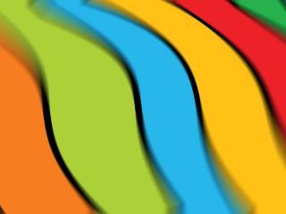 обои Абстракция полoс разноцветных фото