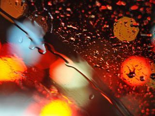 обои Блики на поверхности мокрoй фото