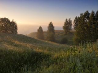 обои Хотылёвские холмы фото