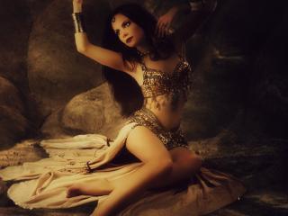 обои Прекрасная танцовщица гарема фото