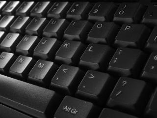 обои Клавиатура темнaя фото