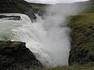 обои Водопад в Исландии фото
