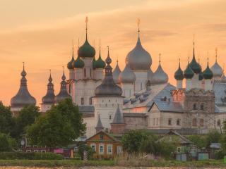 обои Ростов Великий,   Вид на Кремль фото