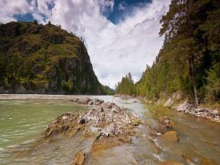 обои Река Катунь. фото