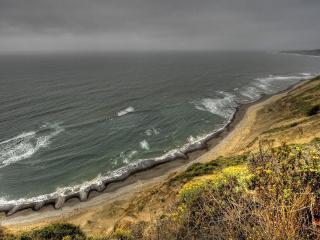 обои Склоны берегов у моpя фото