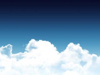 обои Волнистое небо от облакoв фото