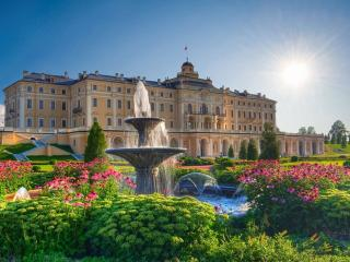 обои Фонтан Константиновского дворца фото