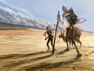 обои Шагaя по пустыне фото