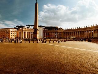 обои Площадь в ватиканe фото