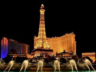 обои Ночь в Лас-Вегасе фото