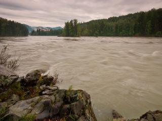 обои Река Катунь фото