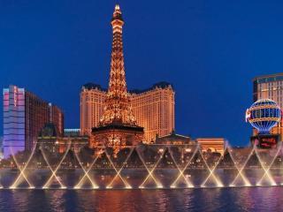 обои Вечерний Лас-Вегас фото