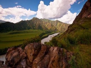 обои Путешествие по горному Алтаю фото