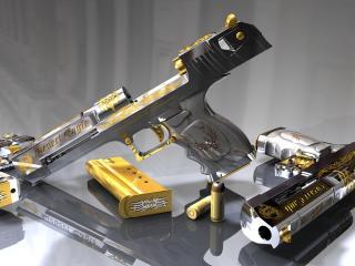 обои Пистолет desert eagle фото