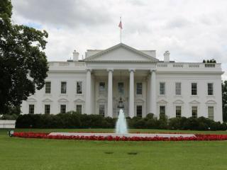 обои для рабочего стола: Фонтан у Белого дома